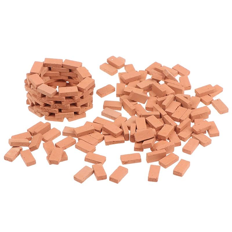 120PCS Miniature DIY Durable Sand Table Diorama Landscape Kids Scenery Building Toy Modelling Simulation Brick Portable