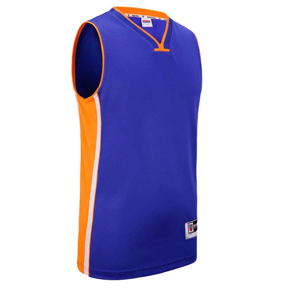 Sanheng 男子バスケットボールジャージー競争クリングジャージクイックドライ通気性スポーツ服カスタムバスケットボールユニフォーム 301A トップス