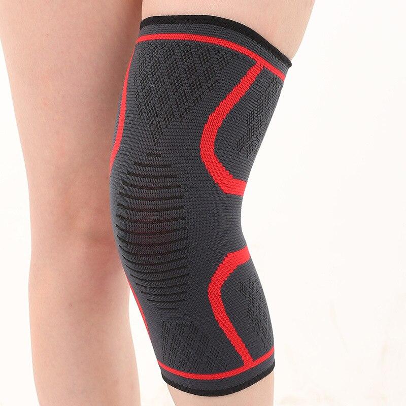2pcs Summer Outdoor Sports Knee Sleeve Pads Protector Braces  Men Women Elastic Nylon Knitted Tennis Kneepad Kneecap Kneelet