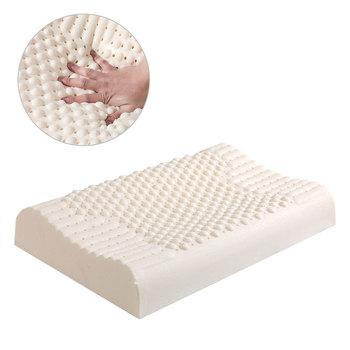 Tajlandia czysta poduszka z naturalnego lateksu naprawcza ochrona szyi kręgi opieka zdrowotna poduszka ortopedyczna powolne powracanie do kształtu poduszka odkształcająca się tanie i dobre opinie BODY Masaż Pościel 200tc Stałe latex Poliester bawełna Pamięci Chłodzenia NECK Klasa a 100153 Prostokąt 0 5-1 kg