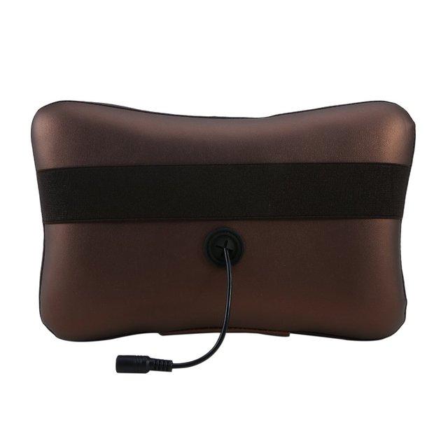 8/4 Head Neck Massager Car Home Shiatsu Massage Neck Relaxation Back Waist Body Electric Massage Deep-Kneading Pillow Cushion 4