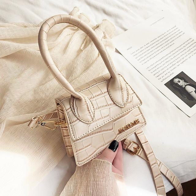Jacquemus Mini Small Square Bag Womens Handbag Designer Brand Leather Shoulder Bag Tote Crossbody Bags for Women Purse sac