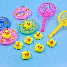 Bath toy Bathroom Baby toy Rubber Duck Animal call Beach Swim Toy for children float Animal Yellow Duck Ducks Kawaii Cute Water