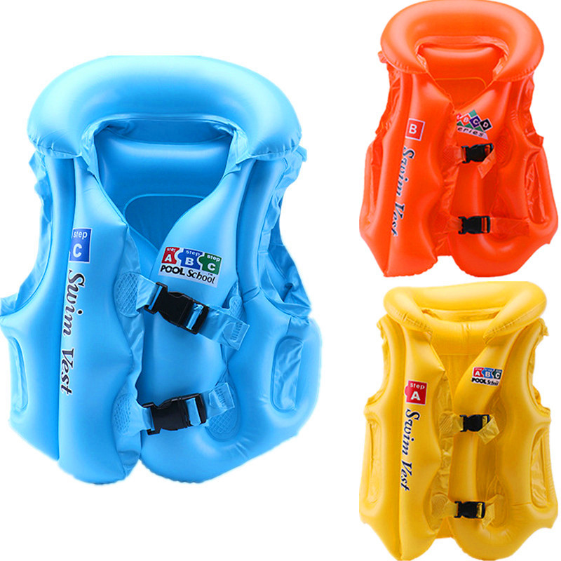 PVC  Children  Inflatable Bathing Suit  Inflatable ABC  Swimming Buoyancy Vest  Baby & Kids' Floats Pools & Water Fun