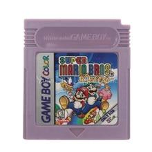 Für Nintendo GBC Video Spiel Patrone Konsole Karte Super Mari Bros Englisch Sprache Version
