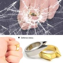 Window-Breaker Self-Defense Ring-Broken Emergency-Rescue-Ring Mini Cat-Ear Hot-Sale 1pc