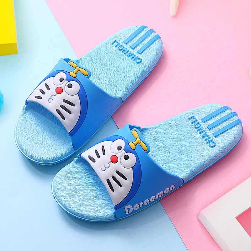 2020 Hello Kitty Kids Nieuwe Zomer Jongen Meisje Strand Schoenen Baby Peuter Zachte Indoor Badkamer Slippers Slippers Cartoon Anime