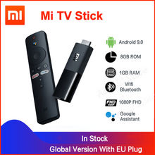 Xiaomi Mi TV Stick Android TV 9.0 Quad-core 1080P Dolby DTS HD double décodage 1 go de RAM 8 go ROM Assistant Google Netflix Fire TV(China)