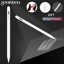 Für iPad Bleistift mit Palm Ablehnung, aktive Stylus Stift für Apple Bleistift 2 1 iPad Pro 11 12,9 2020 2018 2019 Air 4 7th 8th 애플펜슬