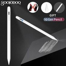 Para ipad lápis com rejeição de palma, caneta stylus ativa para apple pencil 2 1 ipad pro 11 12.9 2020 2018 2019 ar 4 7th 8th 8th 8th 8th