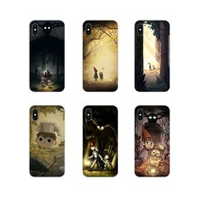 Accessories Phone Shell Covers For Apple iPhone X XR XS 11Pro MAX 4S 5S 5C SE 6S 7 8 Plus ipod touch 5 6 Over The Garden Wall(China)