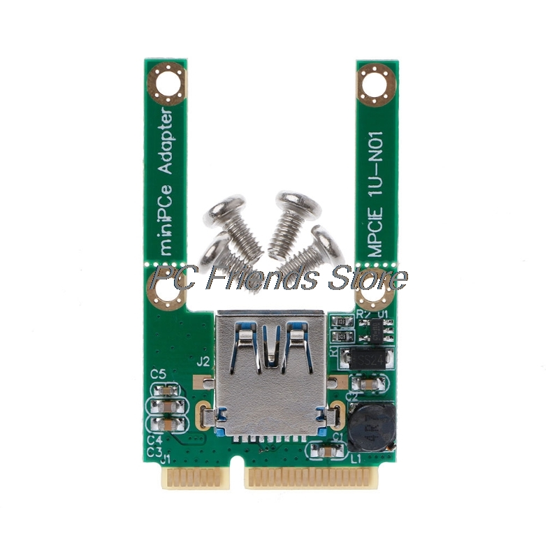 High Quality Mini PCI-E PCI-Express Card To USB 3.0 Male Converter Adapter Card