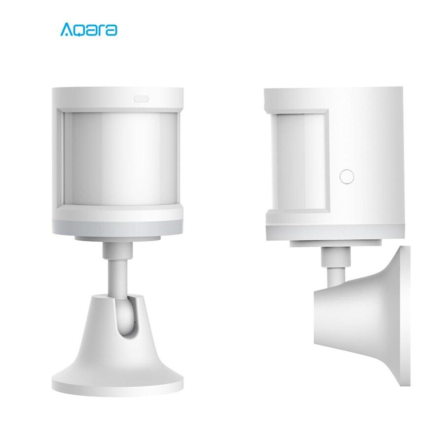 Image 5 - 100% Original Aqara Smart Human Body Sensor ZigBee Wireless Connection Built In Light Intensity Sensors Work Mihome APP Contralconnectconnected light  -