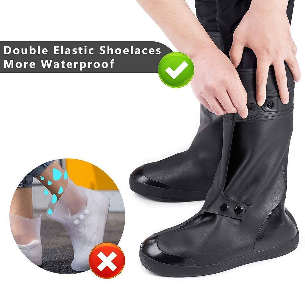 Waterproof Cycling Shoes Covers Shoe Bike Road Bicycle Lock Cover Mtb Men Women