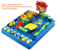 sensory integration Adventure 8 Hurdles Water Park Labyrinth Diy Children 's For Intellectual Puzzle Toys Pass Gifts