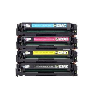 Image 4 - Compatible for hp 203A CF540A 540a toner cartridge for HP LaserJe Pro M254nw M254dw MFP M281fdw M281fdn M280nw printer