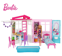 Original Barbie Dolls Barbie Furniture Toy for Girls Barbie House Doll Accessories Diy House Hot Toys for Children Birthday Gift