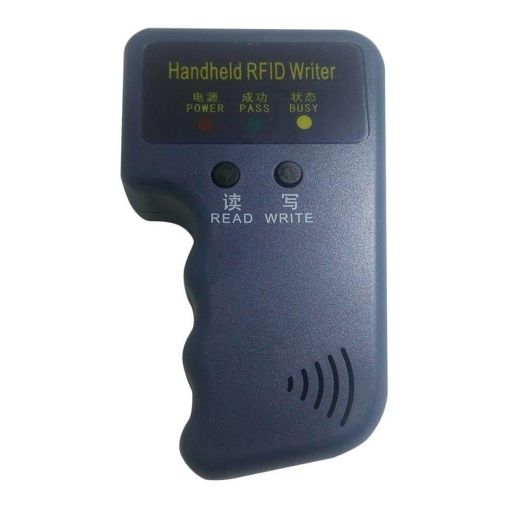 Duplicator Key Handheld 125KHz RFID IC ID Card Copier Writer Duplicator Programmer Reader Match Writable EM4305 ID Keyfobs Tags