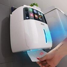 Wasserdicht Wc Papier Halter Für Wc Papier Handtuch Halter Badezimmer Dispenser Lagerung Box Wc Rollen Halter Wand Montiert