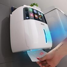 porta rollo papel higienico Soporte de papel higiénico impermeable soporte de toallas de papel creativo para cocina baño papel higiénico caja de almacenamiento soporte de rollo de inodoro