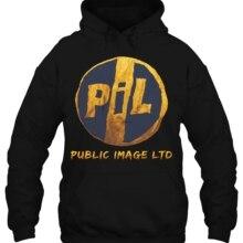 Мужская толстовка с капюшоном teeshirt General Images Ltd PiL, Мужская черная, 2 стороны, все размеры, женская уличная одежда
