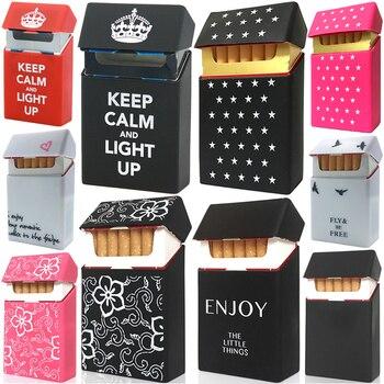 Мягкий Портативный Силиконовый чехол для сигарет s для 20 аксессуары для сигарет коробка для сигарет гаджеты для мужчин подарок табако Чехол Коробка для табака