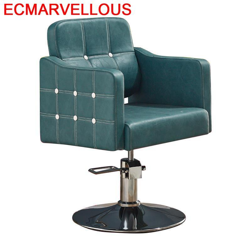 Chaise Makeup Sedia Cabeleireiro Nail De Barbeiro Sedie Stoel Hair Furniture Stoelen Barbershop Cadeira Salon Shop Barber Chair