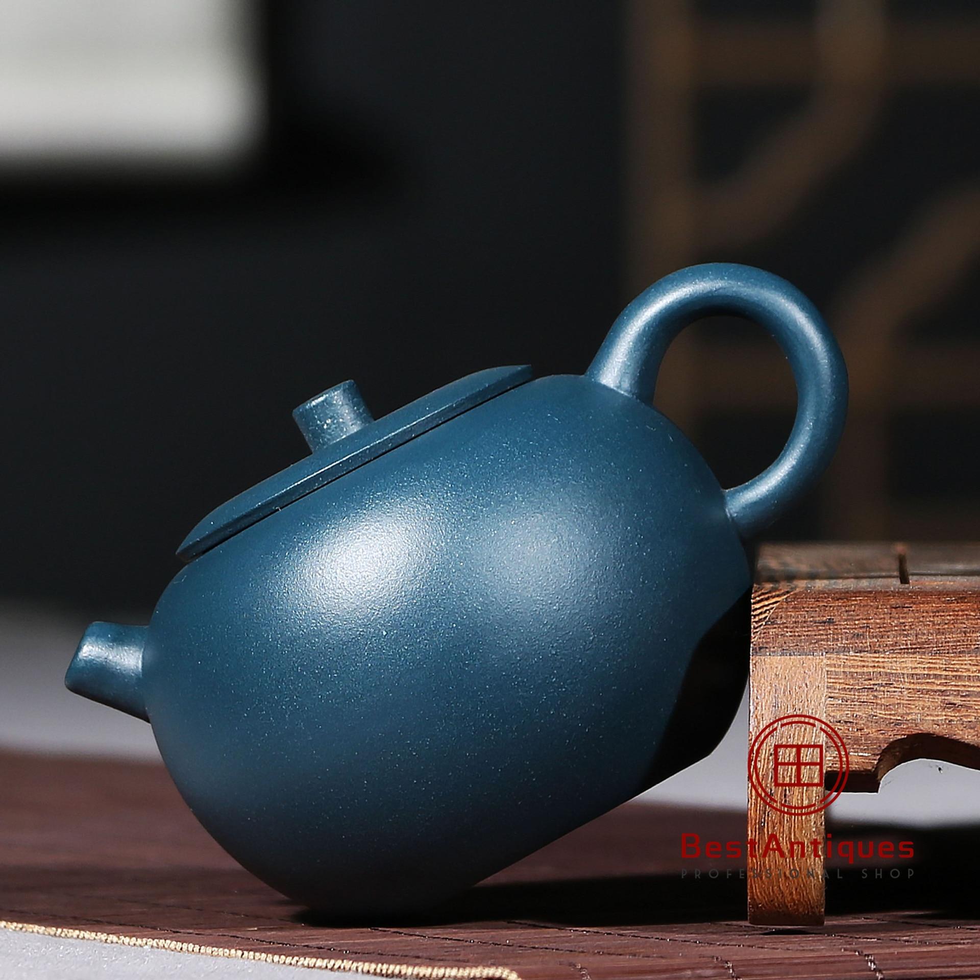 Chinese Yixing zisha teapot handmade purple clay lvni xishi teapot 200cc