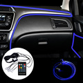 12V Smart Bluetooth Auto RGB Umgebungs Licht LED 6m Streifen Stimmung Lampe Innen Tür Sitz Dashboard Dekoration 4x4 Caravan Zubehör