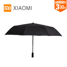 XIAOMI KONGGU güneşli şemsiye otomatik katlanır büyük boy taşınabilir erkek kadın şemsiye güneş koruyucu yağmur rüzgar geçirmez UV plaj şemsiye