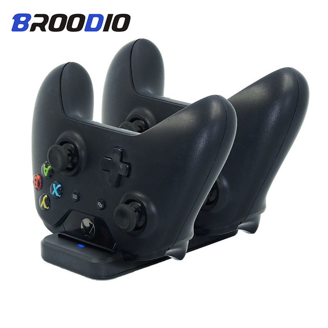 Dual Charging Dock Controller Charger For Xbox one Gamepad Charging Base Hand Shank For Xbox ones Game Accessories