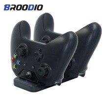 Двойной зарядный док контроллер зарядное устройство для Xbox one геймпад Зарядная база ручной хвостовик для Xbox ones игровые аксессуары
