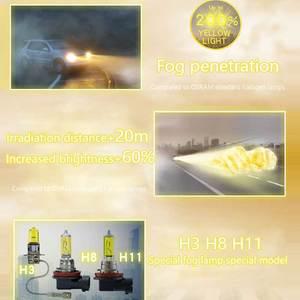 Image 4 - OSRAM Fog Breaker 9006 HB4 Super Yellow Car Head Light Lamp Fog Bulb +60% Light +200%   12V 51W 2600K 9006FBR (Twin)