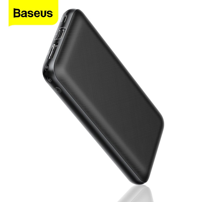 Baseus 20000mAh Power Bank USB C PD 20000 mAh Powerbank Portable External Battery Charger Poverbank For Huawei iPhone Xiaomi mi image