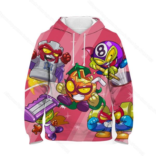 Kids 3D Print Super Zings Hoodie Autumn Winter Children Superzings 6 Series Sweatshirt Sudadera Boy Girl Cartoon Anime Pullover 21