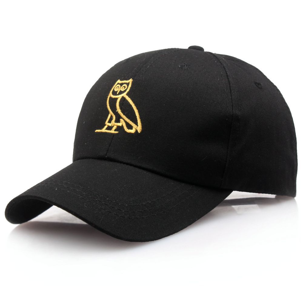 Hip Hop Hat Europe And America Popular Drake Cat Baseball Cap Owl Cricket-cap Hat Outdoor Men And Women Hats