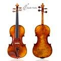 ¡40 años de abeto antiguo Taishi! Violín de suelo Antonio stradari, copia de violino 4/4, madera europea, envío gratis