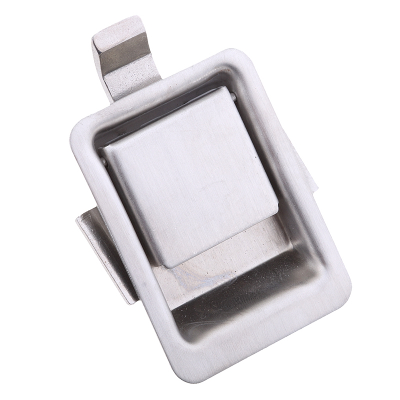 Stainless Steel Recessed Mounted Latch Mini Flush Mount Paddle Handle Lock For RV/Camper/Trailer/Cabinet/Tool Box Etc