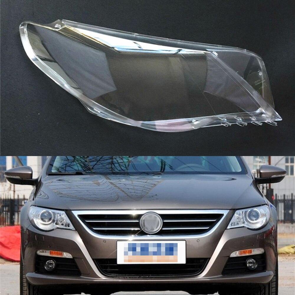 Car Headlamp Lens For Volkswagen VW Passat CC 2009 2010 2011 2012  Car  Replacement  Auto Shell Cover
