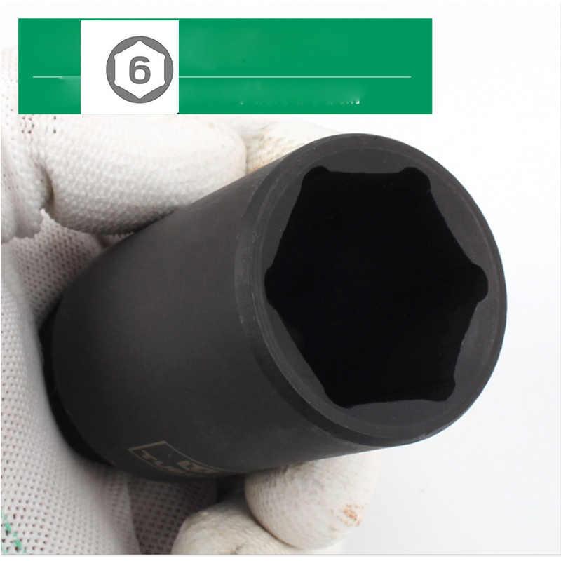 10/15/20PCS 충격 소켓 세트 78MM 드라이브 강력 하 고 무거운 의무 소켓 저장소 상자와 공 압 렌치 손 도구에 대 한 설정