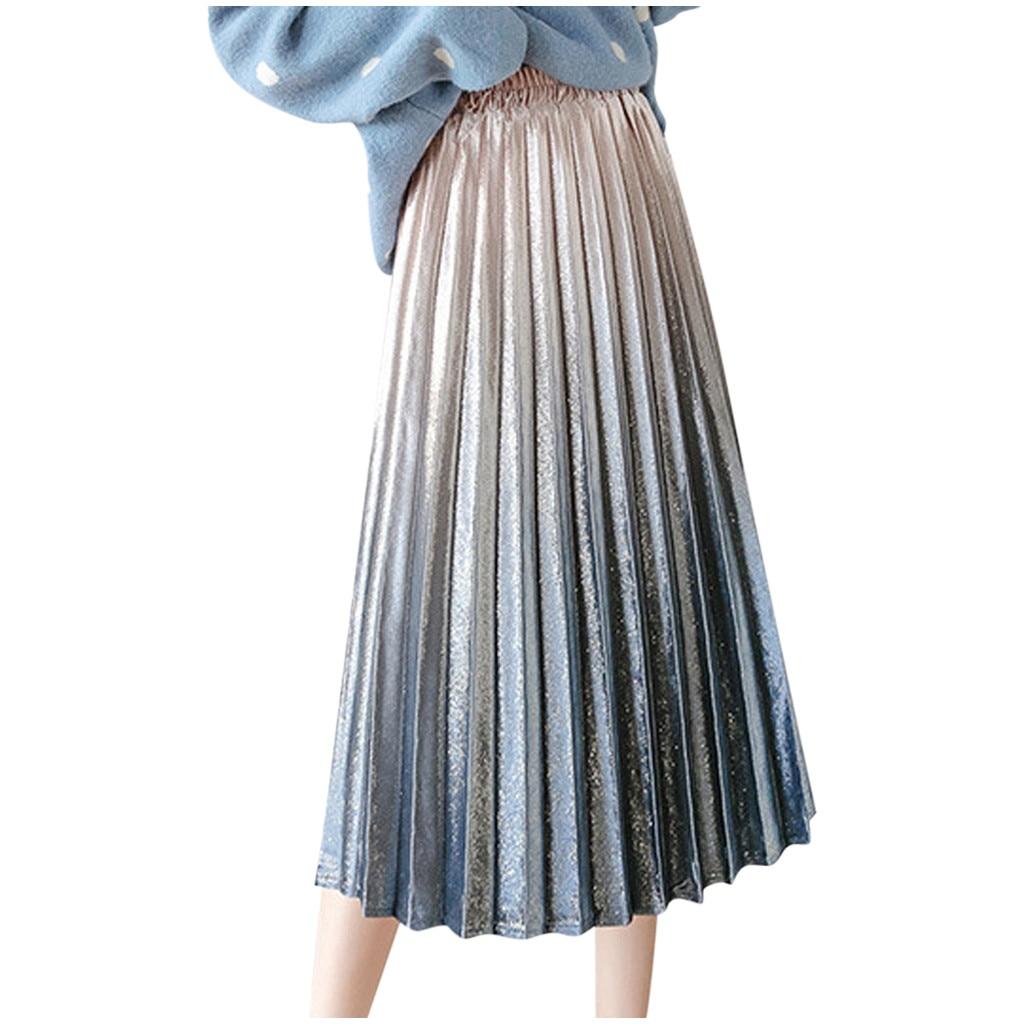 Fashion skirt Women Sexy noble High Waist A-Line Autumn Winter Casual Solid Long Fit Women Skirts юбка женская Free Shipping D4
