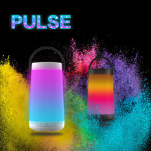30W Pulse music colorful portable outdoor Bluetooth speaker card wireless 2000mah Battery speaker lights LED 3D Stereo subwoofer(China)