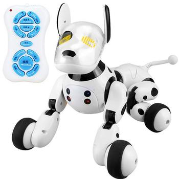 2020 New Remote Control Smart Robot Dog Programable 2.4G Wireless Kids Toy Smart Talking RC Robot Dog Walk toys xmas gifts