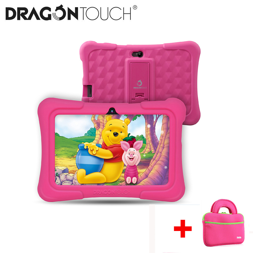 2019 Dragon Touch Y88X Pro 7'' HD Display Kids Tablet For Children 16GB Android 9.0 With Tablet Bag Screen Protector Tablet PC