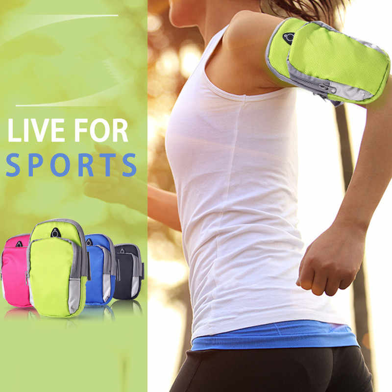 Sports Running Armband Bag Case Cover Running armbands Universal Waterproof Sport mobile phone Holder Outdoor Sport Phone Arm