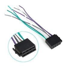 Универсальный женский ISO жгут проводов автомобиля радио адаптер разъем провода разъем комплект