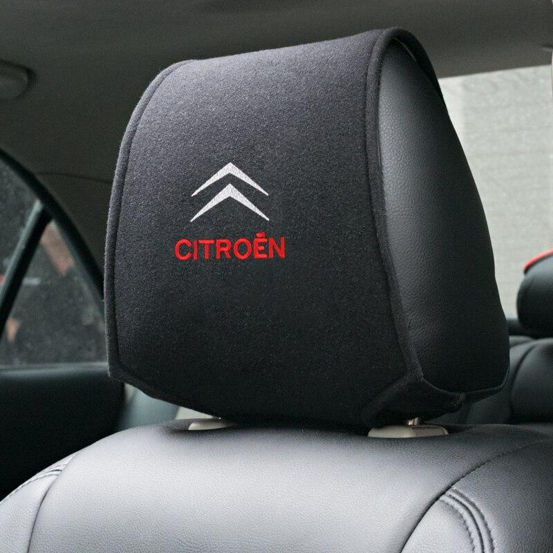 1 шт. популярный автомобильный чехол на подголовник подходит для Citroen C1 C2 C3 C4 C5 C6 C8 C4L DS3 DS4 DS5 DS5LS DS6 аксессуары для стайлинга автомобиля Наклейки на автомобиль      АлиЭкспресс