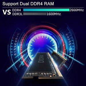 Image 4 - XCY Mini Komputer stancjonarny Intel Core i7 9850H i9 9880H procesor DDR4 RAM Win 10 Linux Gaming 4K UHD HTPC DP Minipc pulpit Komputer