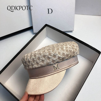 2020 Hat New Autumn Thin Women Folds Section Military Hats Fashion Outdoor Travel Berets Leisure Shopping Shade Cap QDKPOTC