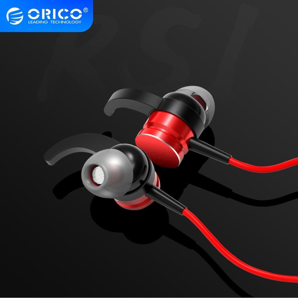 Спортивные музыкальные наушники ORICO со встроенным микрофоном 3,5 мм, проводные наушники для телефона и планшета|Наушники и гарнитуры|   | АлиЭкспресс